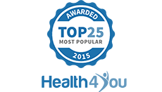 Health4You Most Popular 2015 Award
